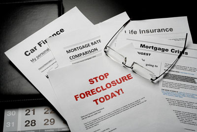Foreclosure files